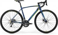Велосипед Merida CycloCross 300 Petrol (Yellow/Lite Teal) 2019 ML(54см)