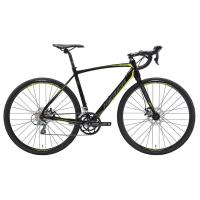 Велосипед Merida CycloCross 90 MattBlack/DarkSilver/Yellow 2019 L(56cm)